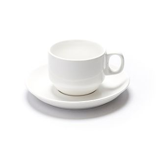 Stacking Cup & Saucer Pack Pack of 10