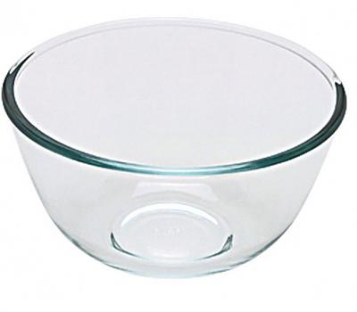 Glass Salad Bowl 1ltr