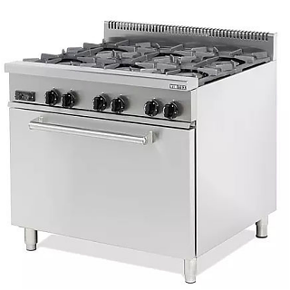 6 Burner Range inc Oven