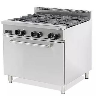 6 Burner Range inc Oven