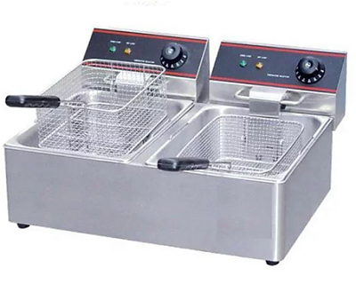 Fryer Table Top (Two Basket) - Single Phase
