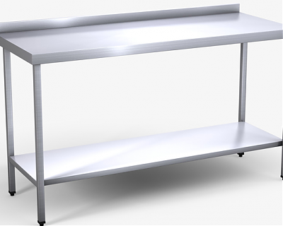 Stainless Steel Prep Table 6ft