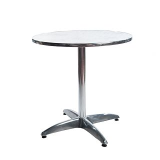 Bistro Round Chrome Table