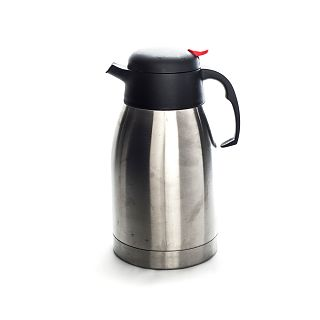Cafetiere Insulated Silver Dispenser Large 8 Cup