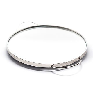 Circular Mirrored Tray